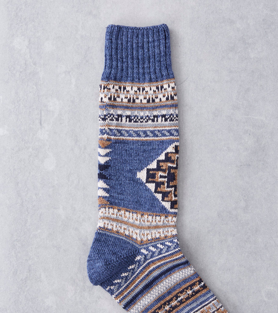 Chup Socks - Tierra - Denim Division Road