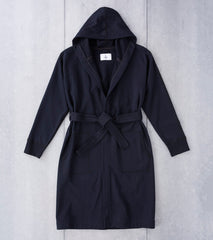 Reigning Champ Hooded Robe - Black Division Road