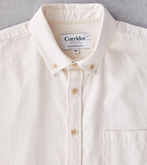 Corridor NYC x Division Road Japanese Undyed Oxford - Cotton Seed