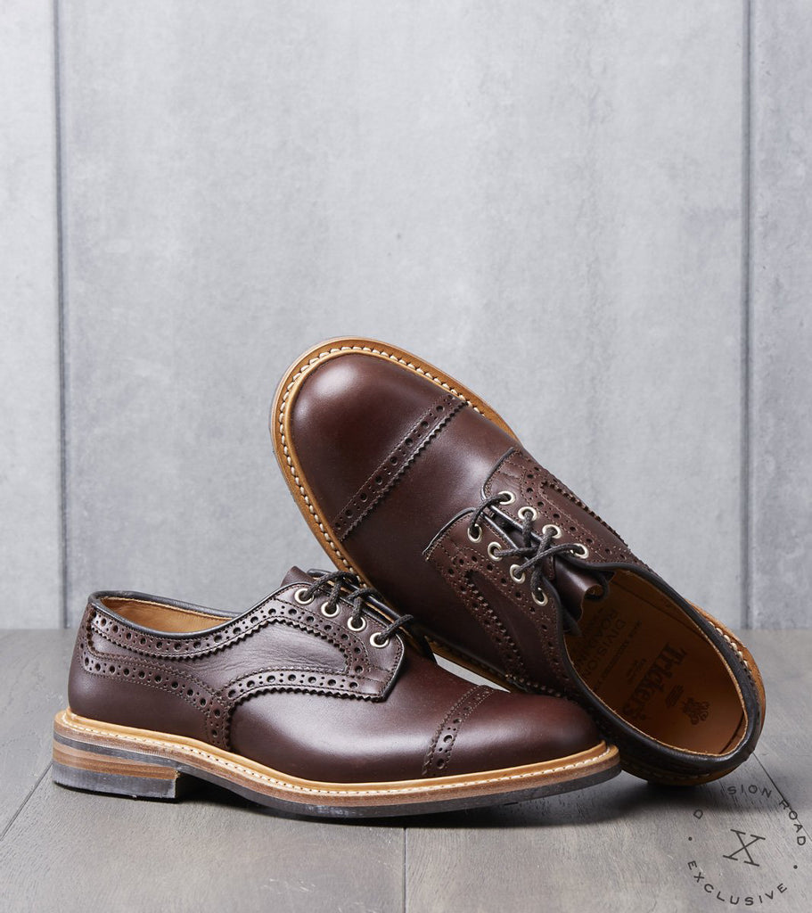 Tricker's x Division Road Cap Toe Brogue Derby - Dainite - Naster MC