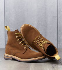 Tricker's x Division Road Low Leg Logger - Dainite - Snuff Calf Repello