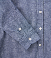 Corridor NYC Japanese Linen Chambray Blue Division Road