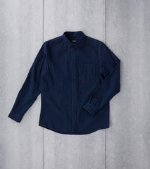 A.P.C. Clift Stonewashed Shirt Indigo Division Road