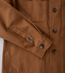 Private White V.C. Safari Jacket - Tan Division Road