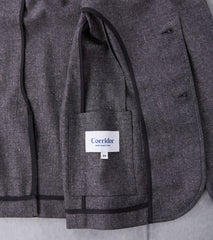 Corridor NYC Tropical Wool Blazer - Grey Spec