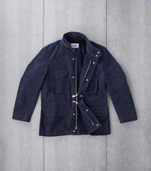 Corridor NYC M65 Jacket 10oz Waxed Cotton Navy Division Road