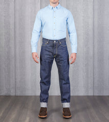 Studio D'Artisan - SP-031 - Relaxed Tapered 40th Gent Natural Indigo Division Road