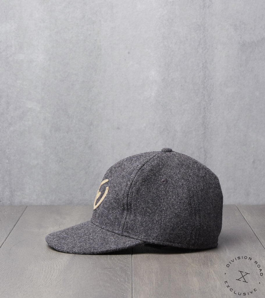 Ebbets Field x Division Road NW Cap - Fitted - Charcoal Pendleton®