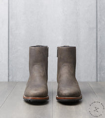 Viberg x Division Road Side Zip Boot - 2050 - Ridgeway - Stone Waxed Kudu
