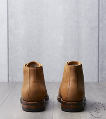 Viberg x Division Road Wholecut Boot - 2030 - Dainite - Nutmeg Waxed Kudu