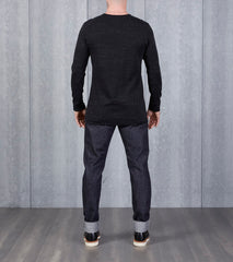 wings+horns Signals Long Sleeve - Static Black Division Road