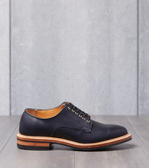 Viberg Derby Shoe - 2020 - Dainite - Navy Oiled Calf Division Road