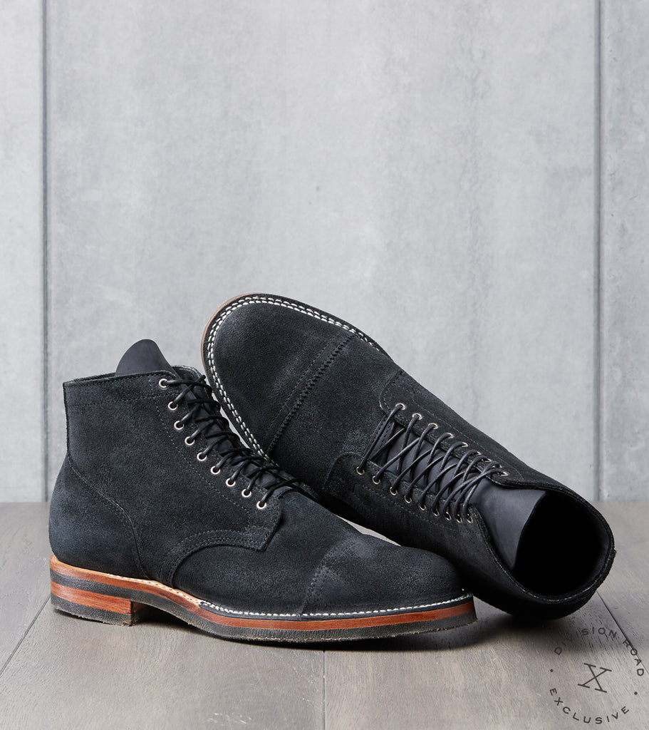 Viberg x Division Road Service Boot - 2030 - Lactae Hevea - Charcoal Chamois Roughout