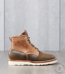 Viberg x Division Road Bobcat - 2030 - Christy - Olive Waxed Flesh & Natural CXL