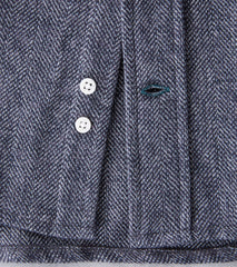 Gitman Vintage Japanese Cotton Tweed - Grey - Division Road