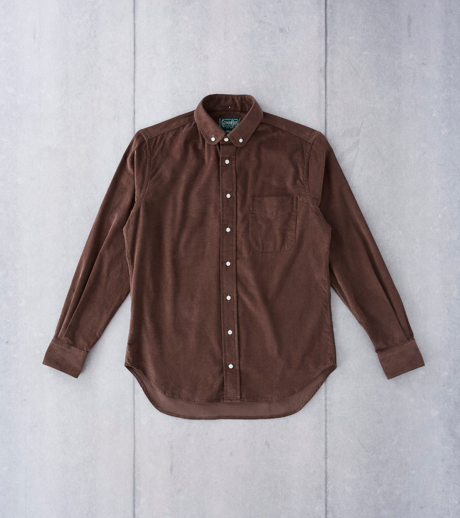 Gitman Vintage Japanese Corduroy - Brown - Division Road