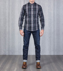 Gitman Vintage x Division Road Interwoven Plaid Twill - Campbell Tartan