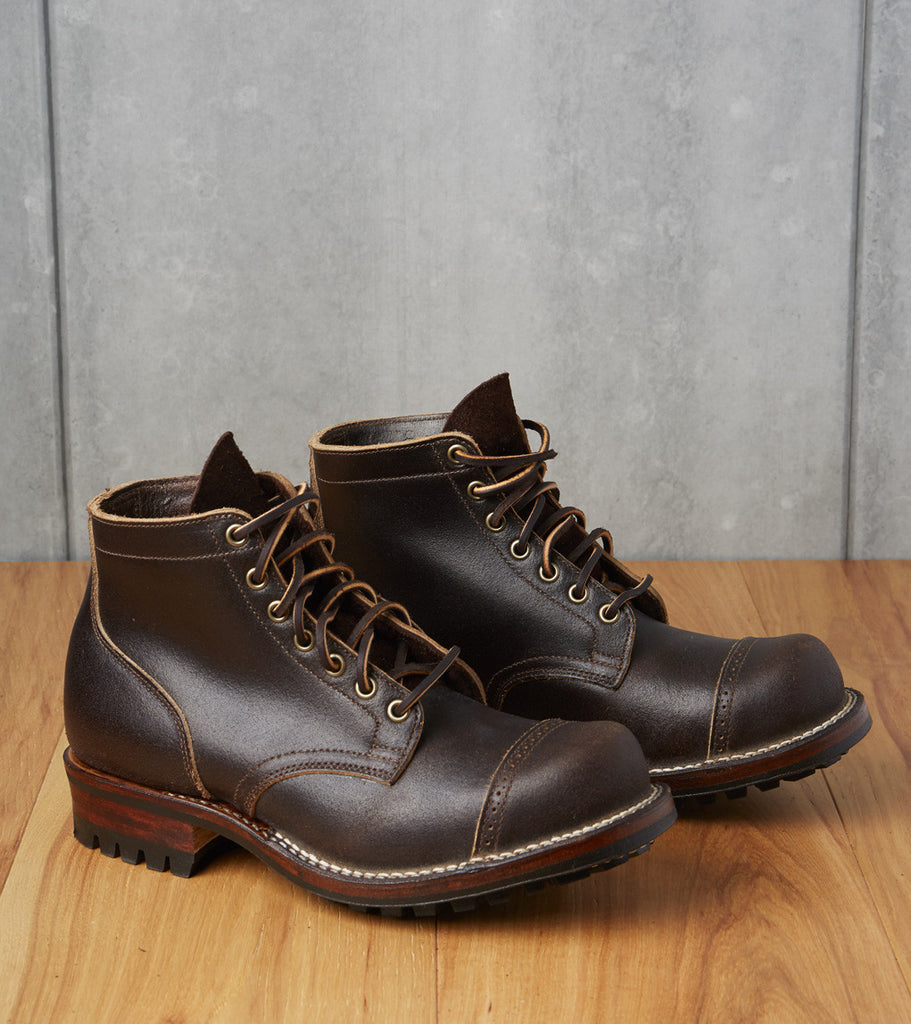 Service Boot - 310 - Commando - Brown Waxed Flesh