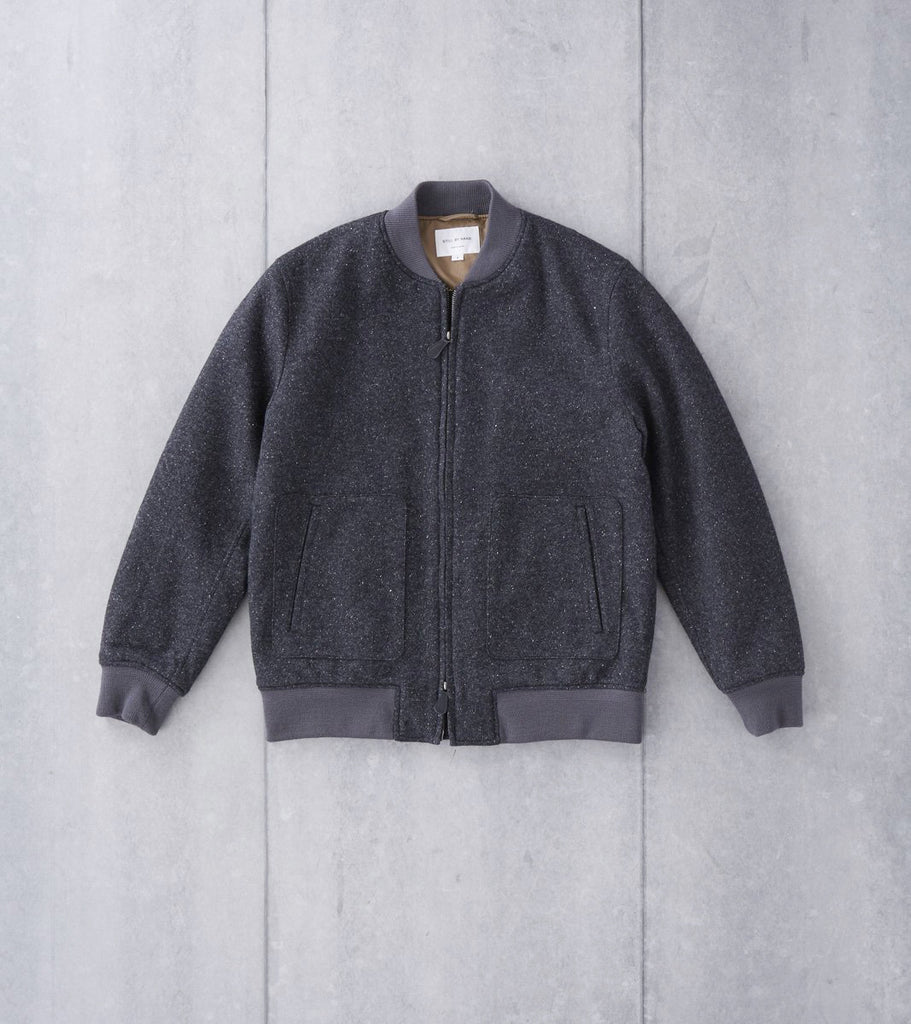 Still By Hand Zip Bomber - Charcoal Division Road