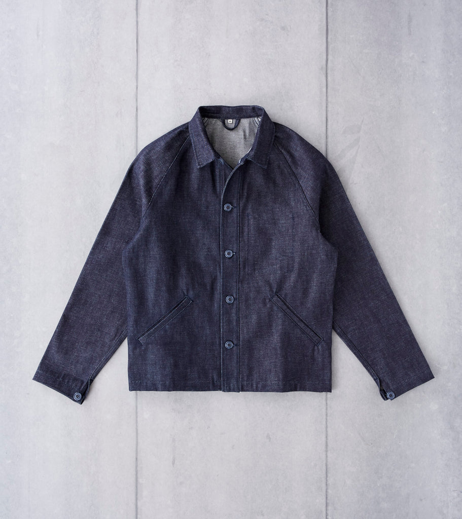 Ginew Shop Jacket - Nihon Menpu Selvedge Denim Division Road