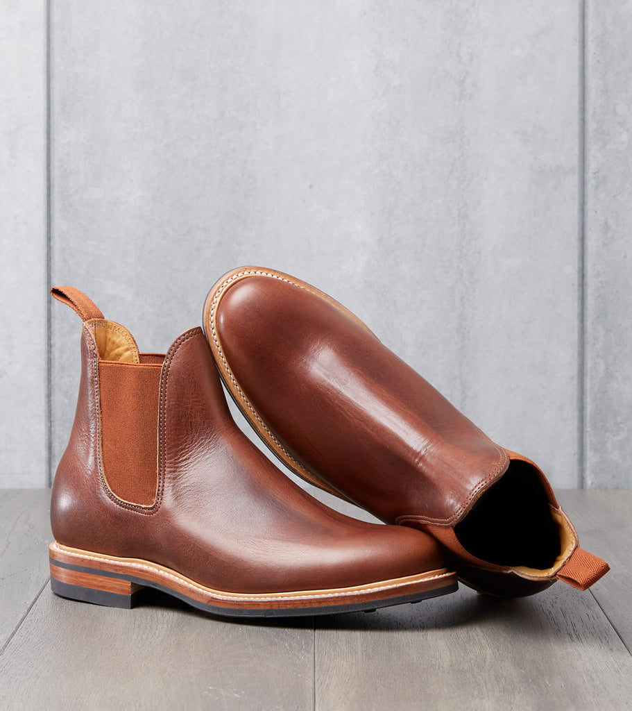 Division Road Viberg Chelsea Boot - 2050 - Dainite - Dark Rubber Dublin