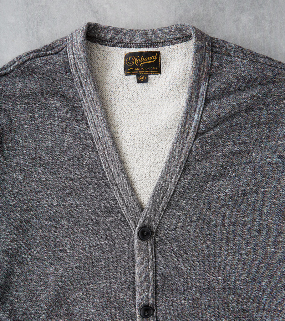 National Athletic Goods Varsity Cardigan Granite Division Road