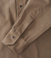 Field Shirt - Selvedge Twill - Khaki