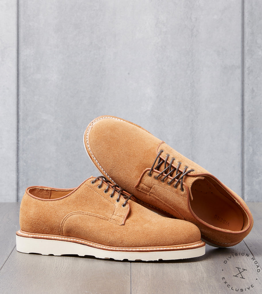 Viberg x Division Road Derby Shoe - 2030 - Christy - Anise Kudu Reverse