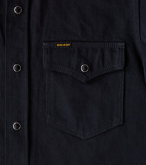 Iron Heart 218 - Western - 12oz Selvedge Denim Johnny Cash III Black Division Road