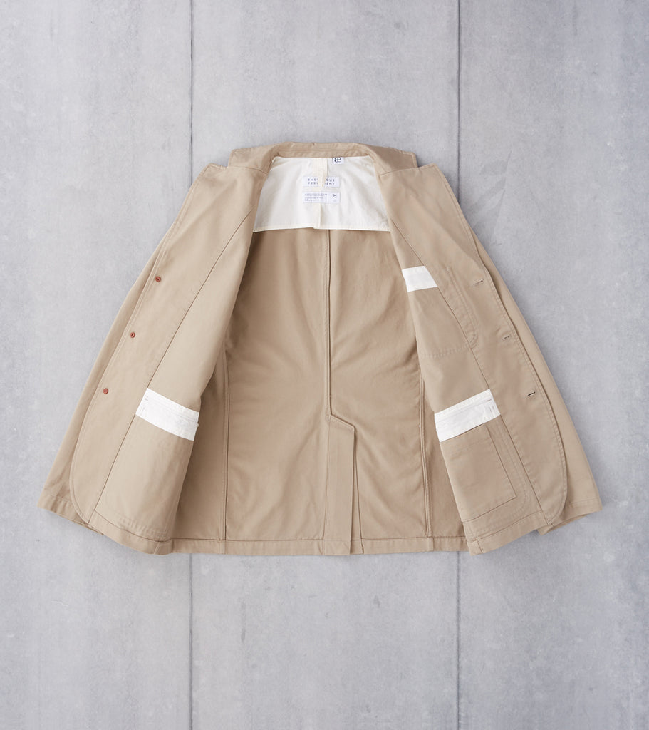 Eastlogue Permanent Collection Brunch Jacket - Beige Division Road