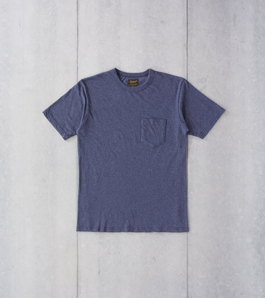 National Athletic Goods - Pocket Tee - Navy Division Road