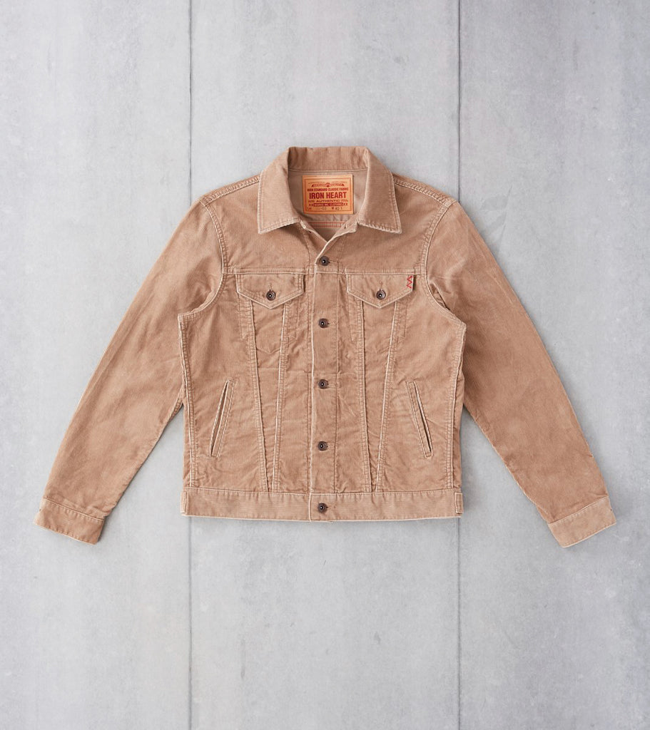 Iron Heart 69-J - Modified Type III - 14w Corduroy Khaki Division Road