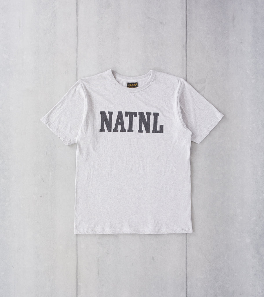 National Athletic Goods - NATNL Athletic Tee - Ash Grey Division Road