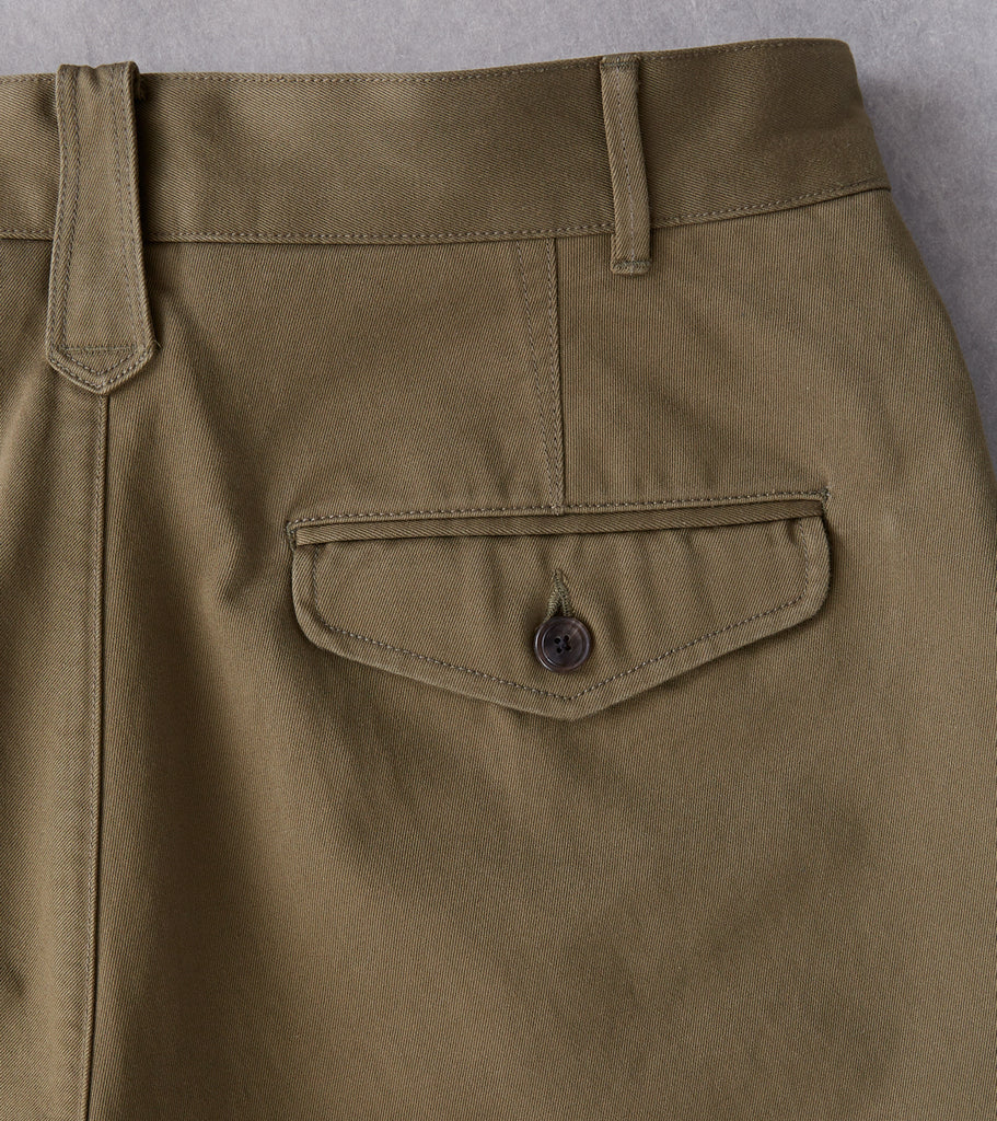 Eastlogue Permanent Collection Brunch Pant - Olive Division Road