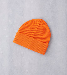 Andersen-Andersen Classic Knit Beanie - Orange Division Road