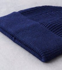 Andersen-Andersen Classic Knit Beanie - Royal Blue Division Road