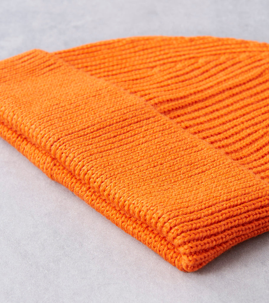 Andersen-Andersen Medium Knit Beanie - Orange Division Road