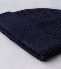 Andersen-Andersen Medium Knit Beanie - Navy Division Road