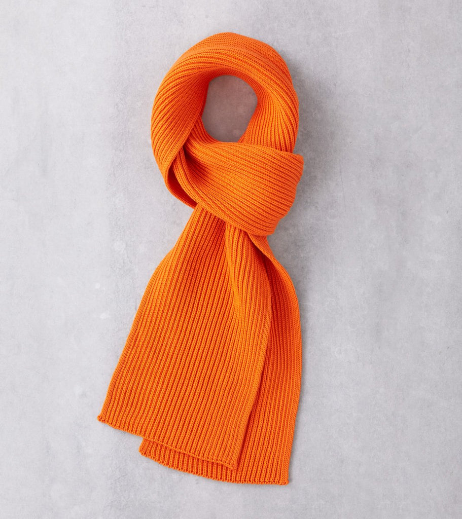 Andersen-Andersen Wide Knit Scarf - Orange Division Road