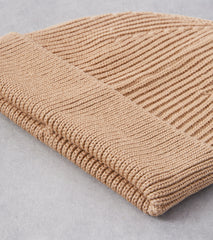 Division Road Andersen-Andersen Classic Knit Beanie - Camel