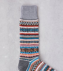 Division Road Chup Socks - Bothar - Ghost