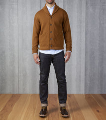 Shawl Cardigan - Nutmeg