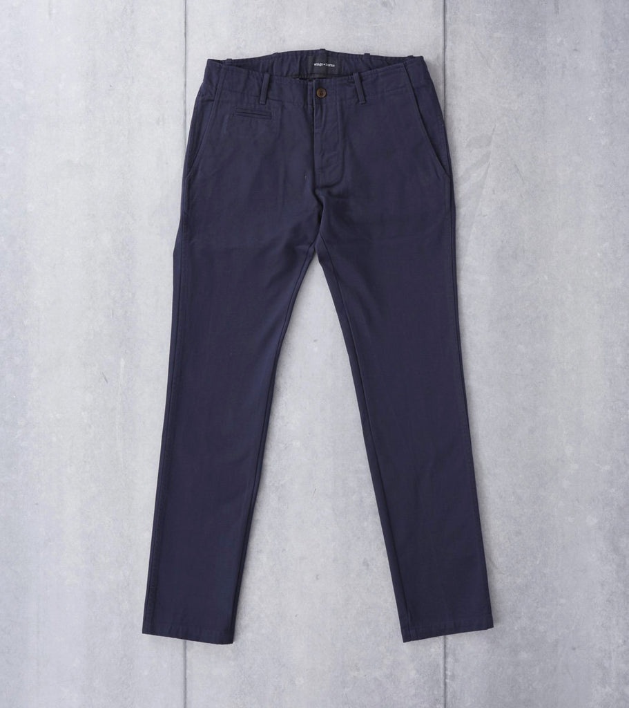 wings+horns Westpoint Chino Navy Division Road Pants