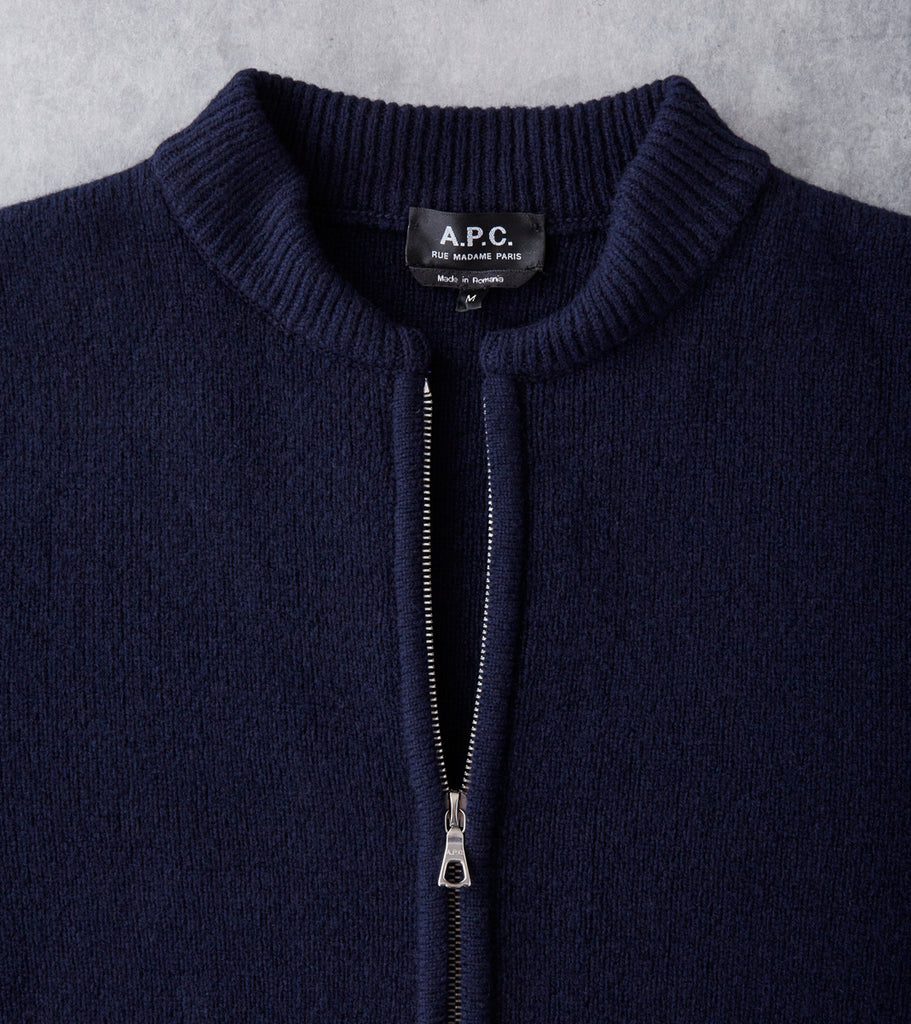 A.P.C. Belfast Jacket - Dark Navy Division Road
