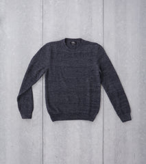 Murrow Sweater - Charcoal Navy