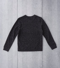 A.P.C. Track Sweatshirt - Heather Charcoal Division Road