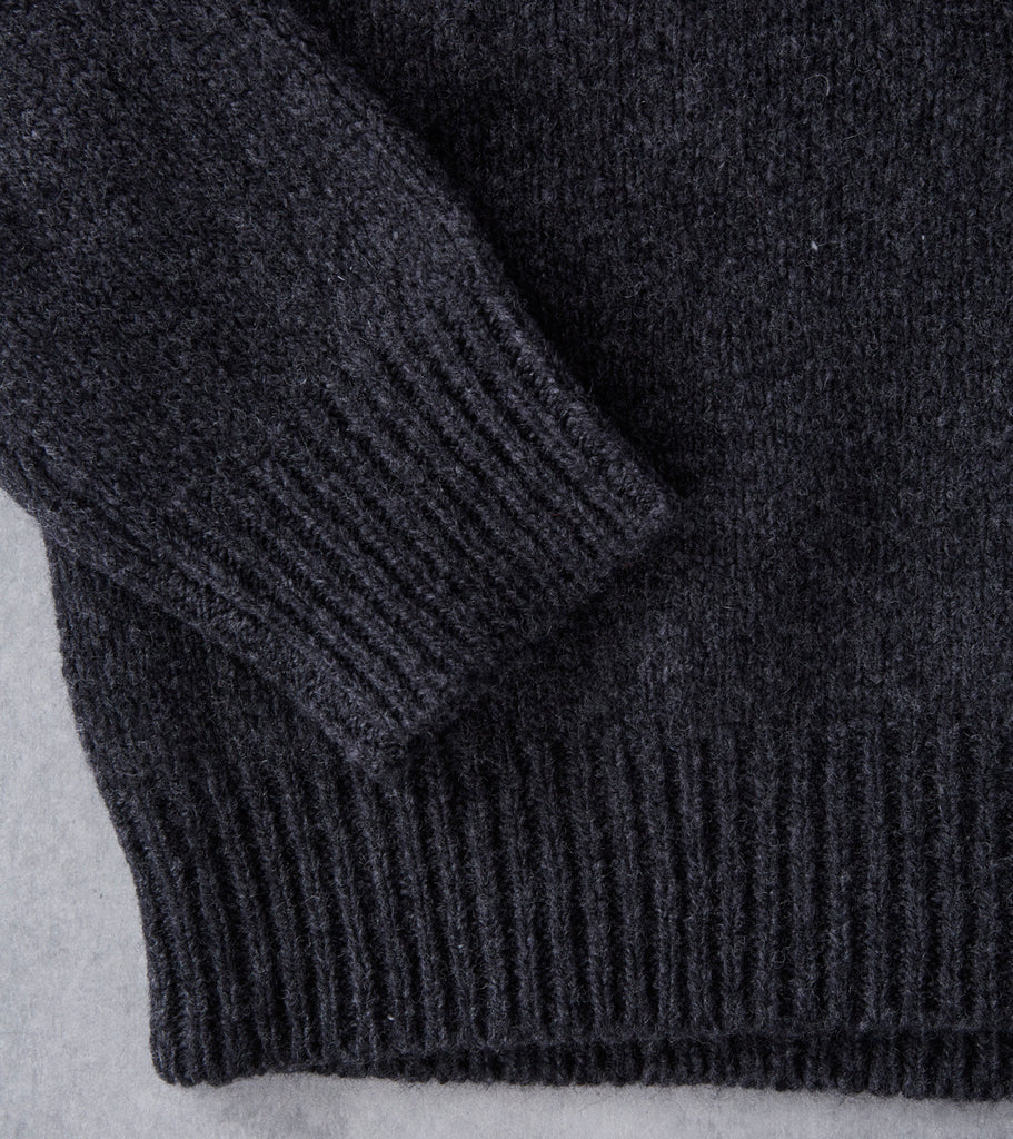 A.P.C. Wind Sweater - Heather Charcoal Division Road