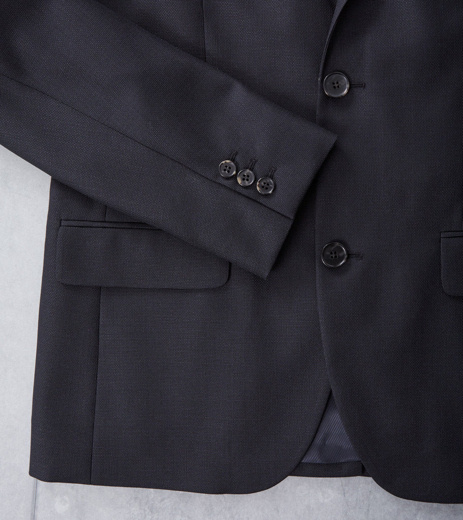 A.P.C. Serges Jacket Off-Black Division Road