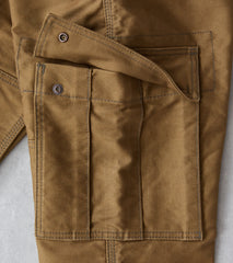 Iron Heart x Division Road AWC 502DR Serviceman - Classic Tapered Cargo - 11oz Olive Drab Whipcord