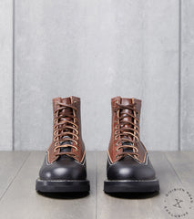 Wesco x IH x Division Road AWC Foreman - Vibram Christy - Black & Brown CXL Horsehide